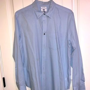 Old Navy L slim fit pressed from the dry cleaners